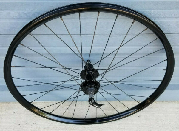 26quot; rear disc only bike wheel tubeless compatible wtb i23 gloss black no decals $99.99