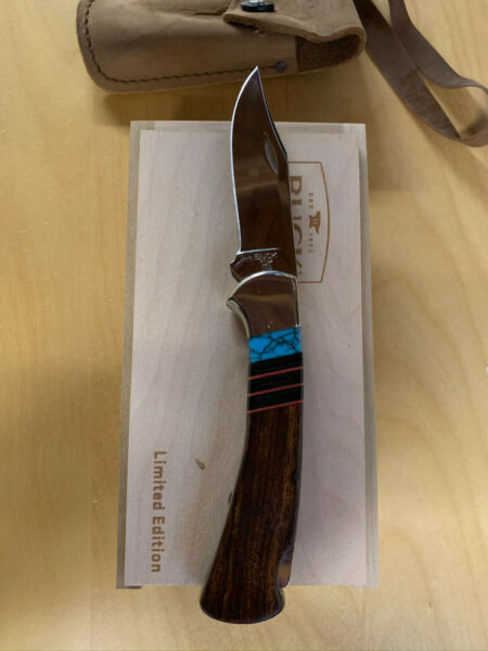 Buck 112 Ranger Limited Legacy Edition Ironwood Handle