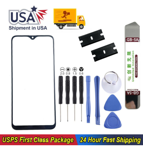 Front Glass Replacement Screen Outer Lens with Tools For Samsung Galaxy A10e