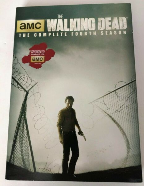 The Walking Dead: The Complete 4th Season FACTORY SEALED