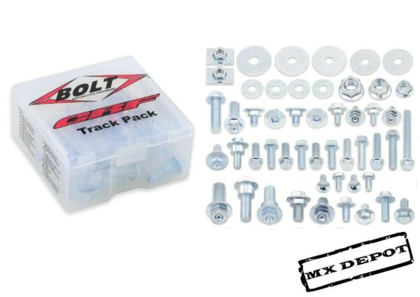 BOLT HONDA TRACK PACK 56 PIECE TOOL BOX BOLT KIT CR125 CR250 2002 2007