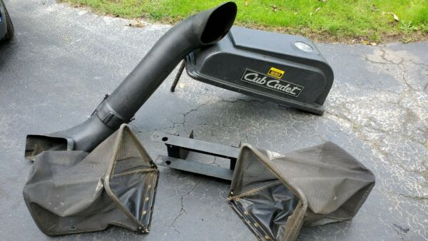 Cub Cadet Complete Grass Bagger Dual Bags for 1320 1320 tractors riding mowers