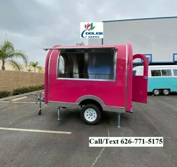 NEW Electric Mobile Food Trailer Enclosed Concession Stand Design 4quot; Hitch $6900.00