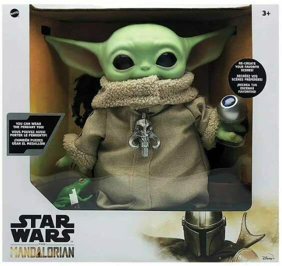 Star Wars The Child Baby Yoda The Mandalorian with 4 Accessories 12quot; Tall