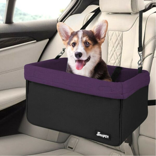 JESPET Dog Booster Seats for Cars Portable Dog Car Seat Travel Carrier $34.99