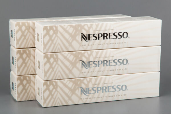 100X NESPRESSO CAPSULES COCONUT FLAVOUR OVER ICE LIMITED EDITION 2021