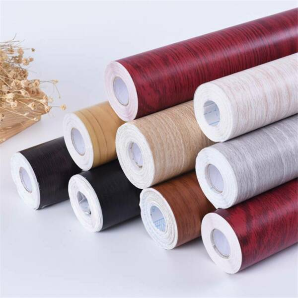 Self Adhesive Wallpaper Wood Grain Film Contact Paper Wall Stickers YS $35.10