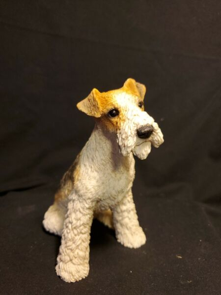 Vintage Castagna Terrier Dog made in Italy 1988 $10.99