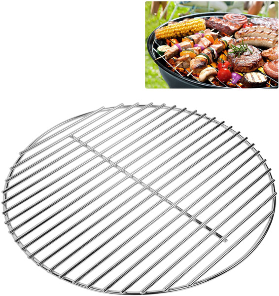 Stainless Steel Round Grill Grate Cooking Grid Part for Classic Kamado Grill 13quot;