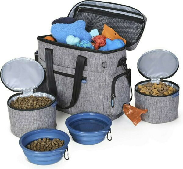 Dog Travel Bag for Supplies Make Travel Easier with Our Dog Bag for Travel ... $19.00