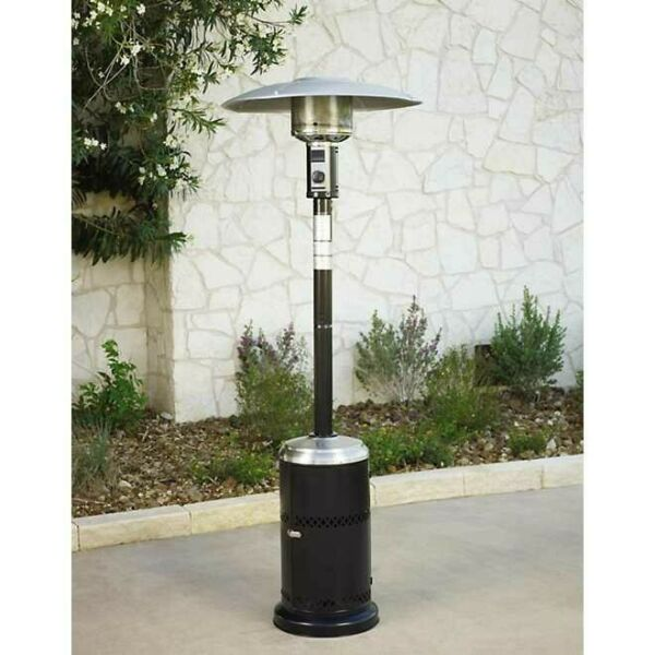 Mosaic Propane Patio Heater 40000 BTU Outdoor Heater Black