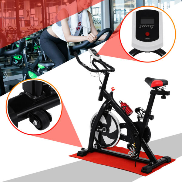 Exercise Stationary Bike Bicycle Cycling Home Gym Cardio Workout Indoor Fitness $163.35