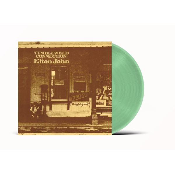 Elton John Tumbleweed Connection Coke Green Vinyl SEALED ships NOW
