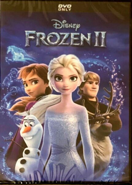 Frozen 2 DVD Disney Brand New Sealed 2020 Free USPS Shipping