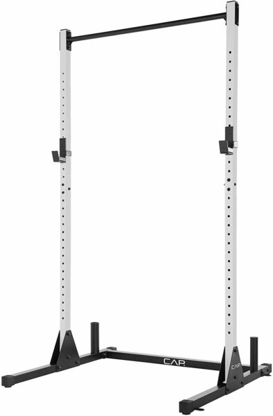 NEW CAP Barbell Power Squat Rack Adjustable Exercise Stand w pullup Ships NOW $189.99