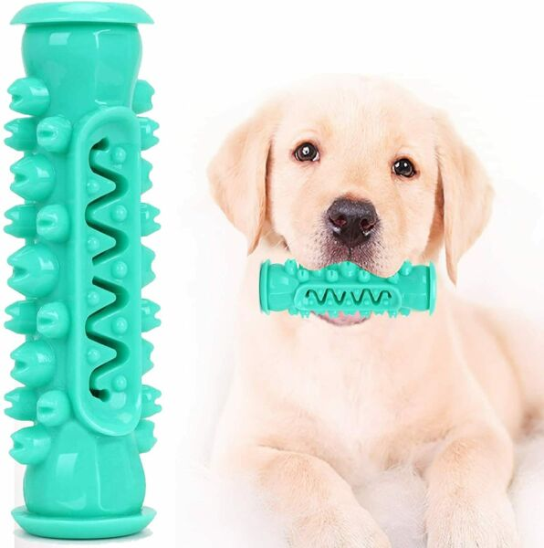 Smart Dog Toothbrush Chew Toy Dog Teeth Cleaning Toy Tooth Brushing 10 45 LBS $11.99