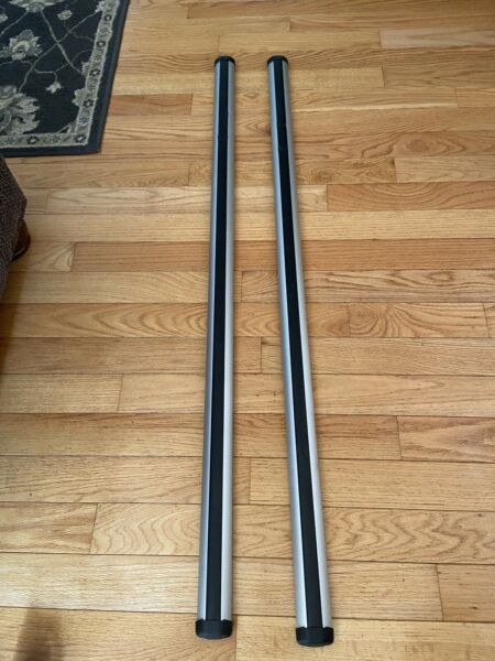 Thule RB53 Rapid Aero Aluminum Roof Rack Load Bars 53 Inch Set Of 2 $90.00