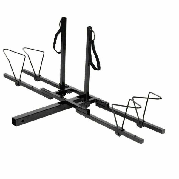 GoPlus 2 Bike 2quot; Trailer Hitch Mount Upright Bike carrier $109.99