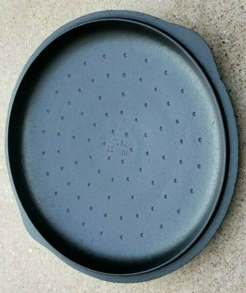 Vintage BSR No. 12 Cast Iron Lid