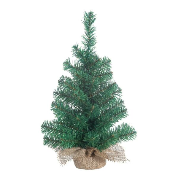 Homvare 12quot; Mini Tabletop Artificial Christmas Tree Home Decorations 2 Pack