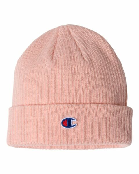 Champion Ribbed Knit Beanie Winter Cap CS4003 OSFA Choose Color