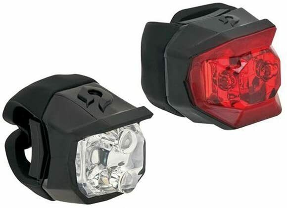 Blackburn Voyager amp; Mars Click Front Rear Bicycle Lights Black Free Shipping $19.99