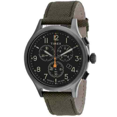 Timex Men#x27;s TW2R47200 Allied 42mm Gray Dial Leather Watch $38.88