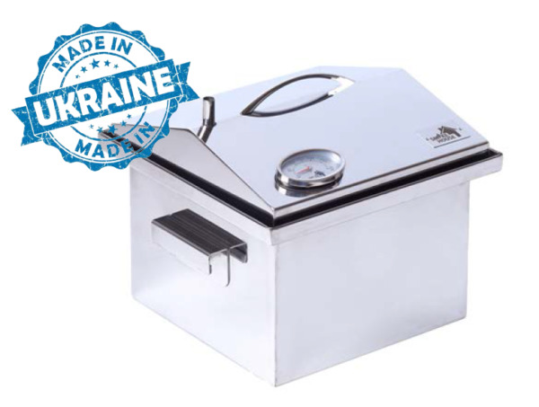 BBQ Grill Smoker Roaster Stainless Steel BBQ Outdoor Pit BBQ Temperature Gauge.