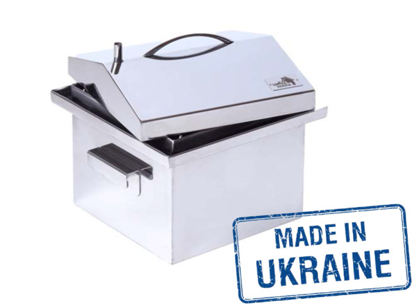 BBQ Grill Smoker Roaster Stainless Steel Smoker Outdoor Pit BBQ Portable Smokers