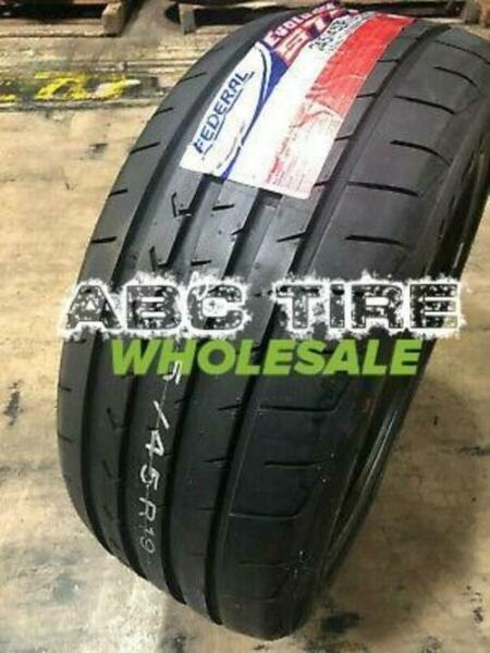 2X Federal Evoluzion ST 1 285 30ZR20 XL 99Y Tires