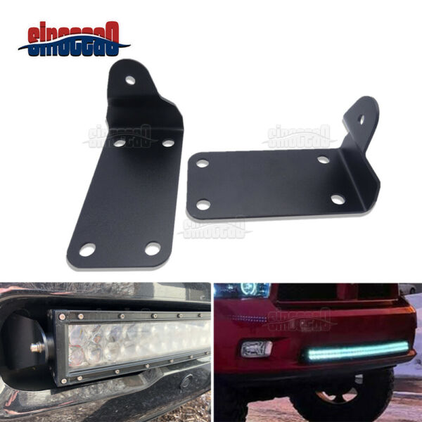 Front Bumper 42quot; Curved LED Light Bar Mounting Brackets For Dodge Ram 2500 3500