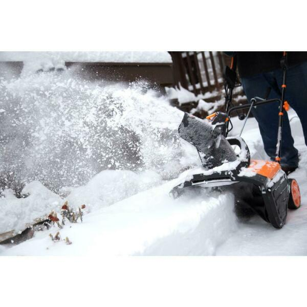 Electric Snow Blower Thrower Power Shovel 18 in Corded Lightweight Easy Use NEW