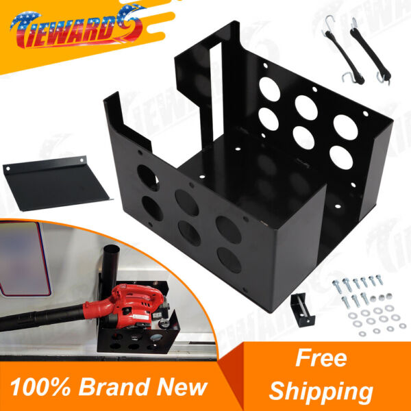 Multi Rack Landscape Truck Rack Trailer Rack For Chain Saws Hedge Trimmers $66.42