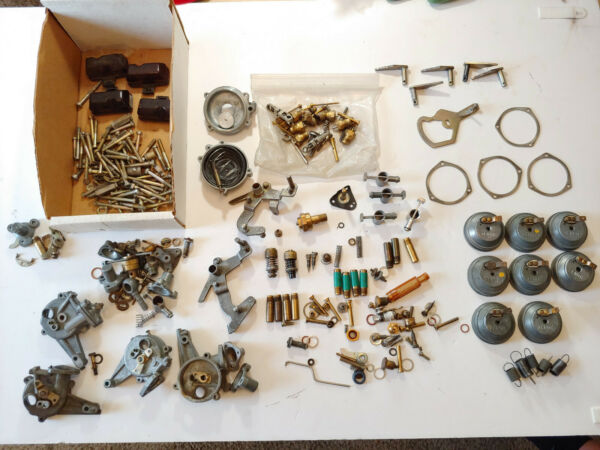 Used and new Mercedes W108 W109 280se 280sl ZENITH Carburetor parts $500.00