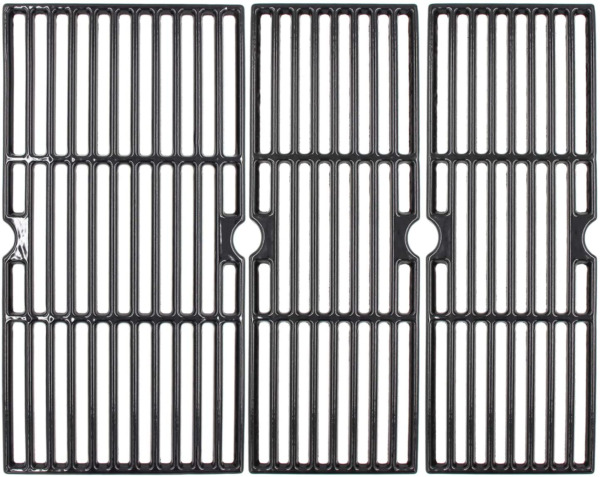 Porcelain Cast Iron Grill Grates 18 3 16quot; Replacement for CharBroil 463348017
