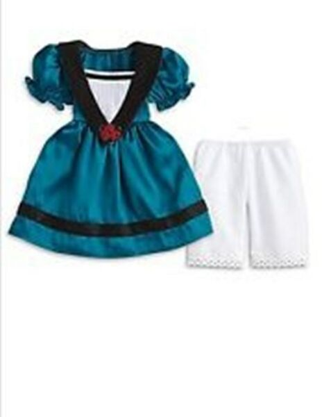 American Girl Doll Cecile#x27;s Meet Dress Outfit Mardi Gras Marie Grace