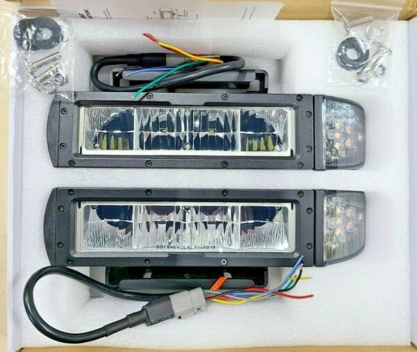 REPLACEMENT 1312100 AM BUYERS UNIVERSAL HEATED LED SNOW PLOW LIGHT KIT