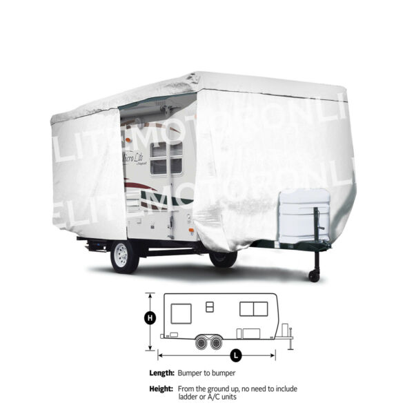 ShieldAll™ Coleman RV Expedition CTS 184BH Travel Trailer Camper Cover $249.95