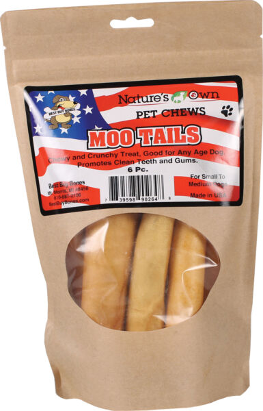 Nature S Own Moo Tails Pet Chews No. 90264 by Best Buy Bones $10.11