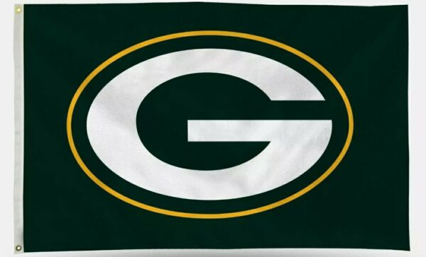 3x5 outdoor Flag NFL Football Green Bay Packers
