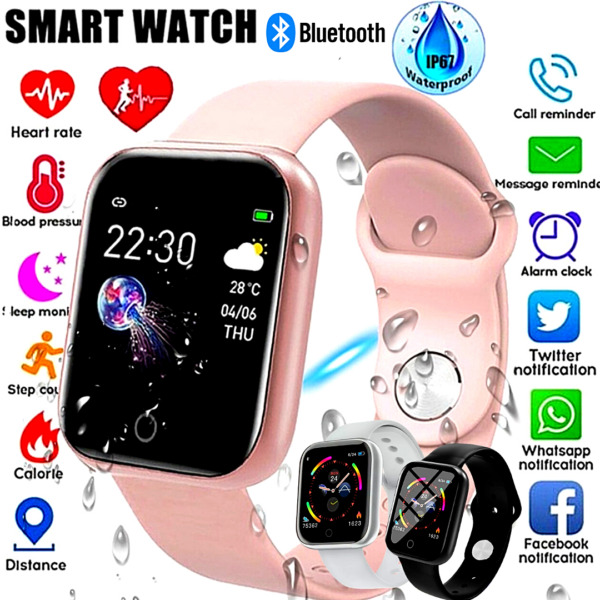 Smart Watch Reloj Inteligente Touch Women Men Heart Rate For iPhone Android IOS $22.99