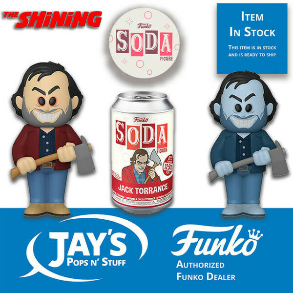 Funko Soda The Shining Jack Torrance 1:6 Possible Chase In Stock