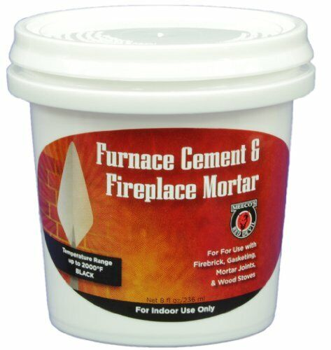 MEECO#x27;S RED DEVIL 1352 Furnace Cement and Fireplace Mortar $14.49