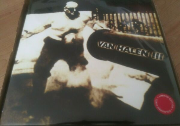 Van Halen III 3 2LP COLORED Vinyl LP Sealed New