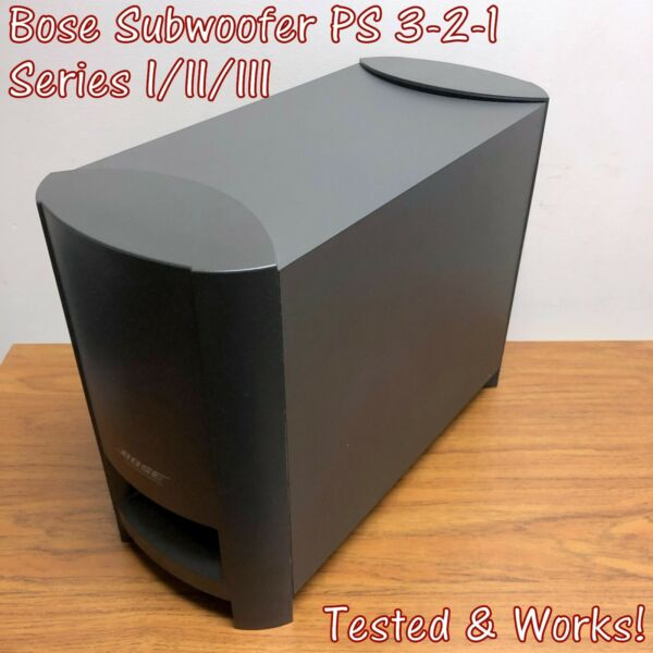 Bose PS3 2 1 Subwoofer PS321 Series I II III for AV321Great Condition TESTED $33.90