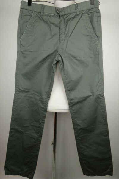 Iceberg Pants Slim Fit Men Size 33 x 32 Made In Italy $49.97
