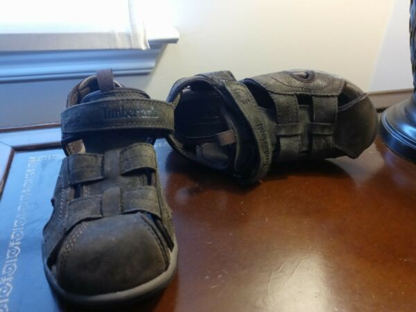 TIMBERLAND BOYS LEATHER SANDALS size13 $23.00