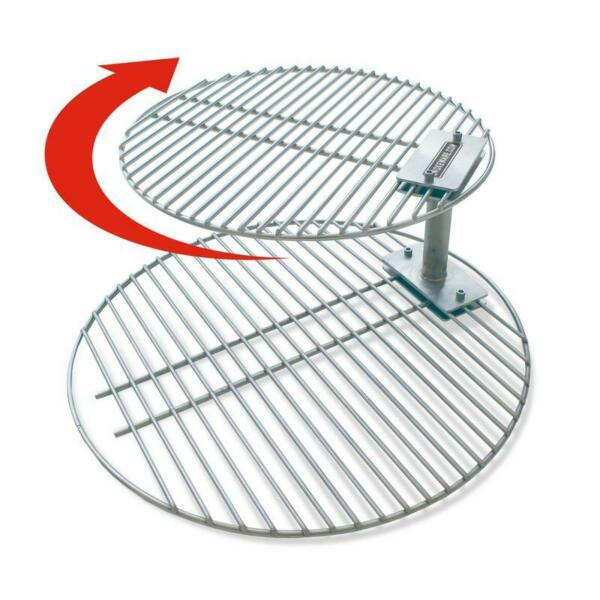 SmokeWare Stacker Grill Grate Combo Large Big Green Egg size