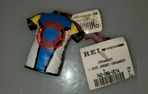 Vintage But New Tags On REI Bike Bicycle Jersey Ornament $20.00
