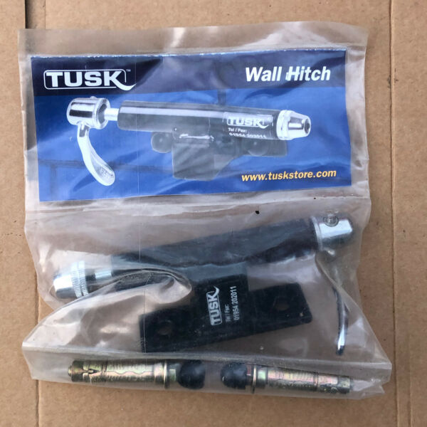 Tusk Wall Hitch wall mounted cycle rack quick release GBP 34.99
